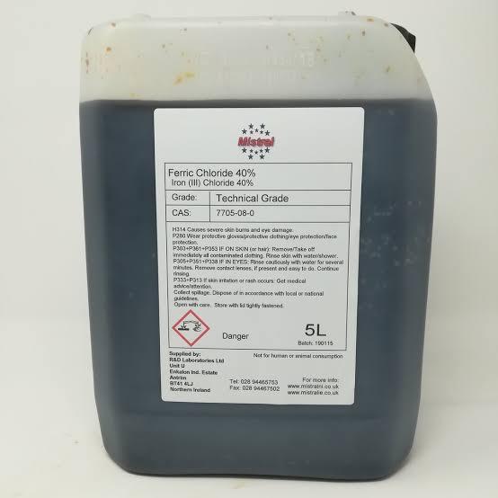 Ferric chloride Amaris chemical solutions