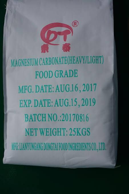 Magnesium carbonate food grade amaris chemical solutions