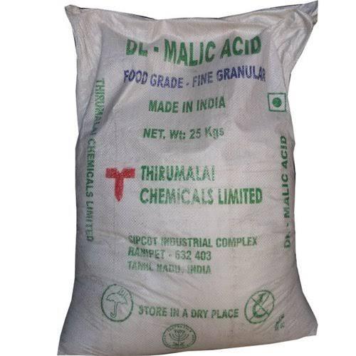Malic acid food grade amaris chemical solutions