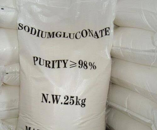 Sodium gluconate 25 kg bag amaris chemical solutions
