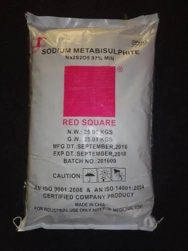Sodium metabisulphate amaris chemical solution