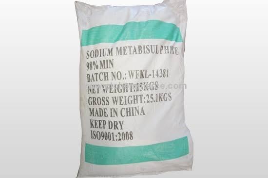 Sodium metabisulphate food grade amaris chemical
