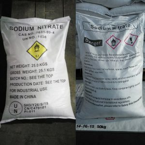 Sodium nitrate amaris chemical solutions