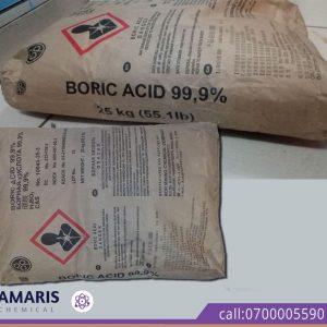Boric Acid amaris chemical solutions