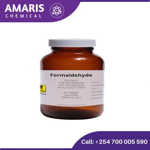 Formaldehyde 2.5 litres amaris chemical solutions