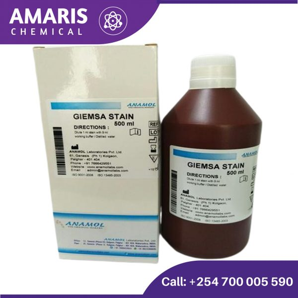 Giemsa stain powder 25gm amaris chemical solutions