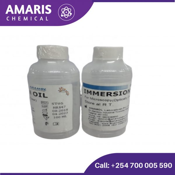 Immersion oil 50ml amaris chemical solutions