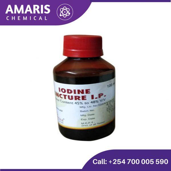Iodine tincture 100ml amaris chemical solutions