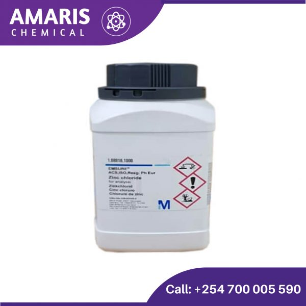 Zinc Chloride 500gm amaris chemical solutions