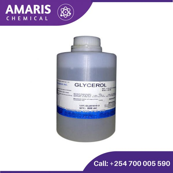 glycerol 2.5litres amaris chemical solutions